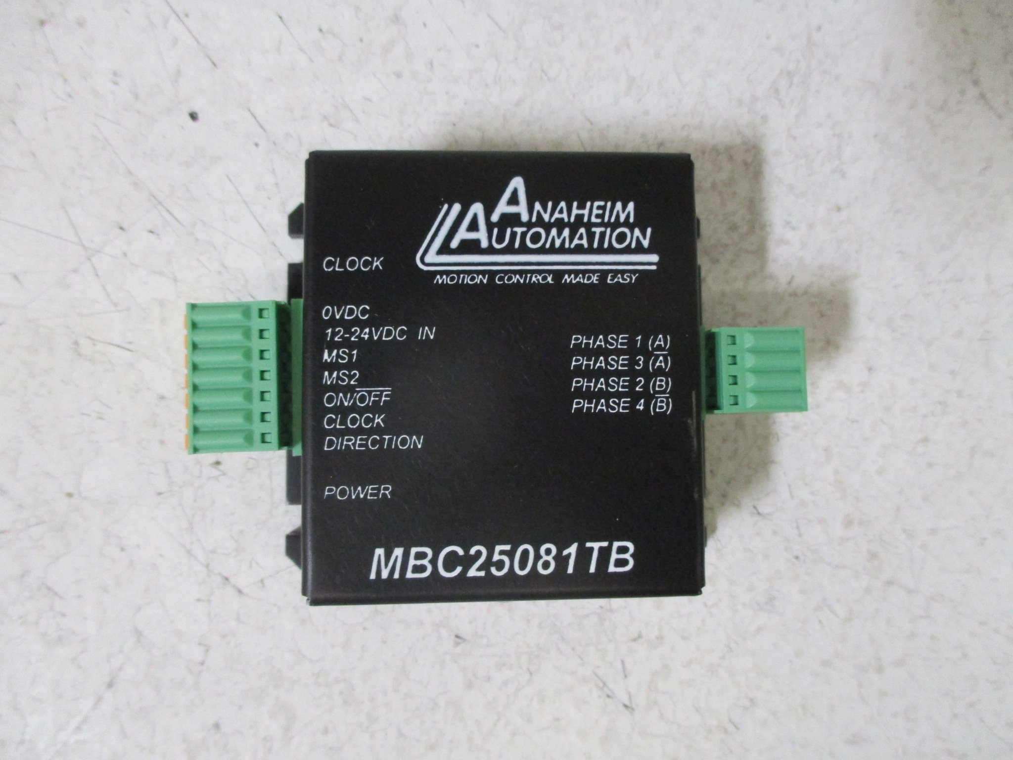 Anaheim Automation MBC25081TB Stepper Driver, Compact Micro Step