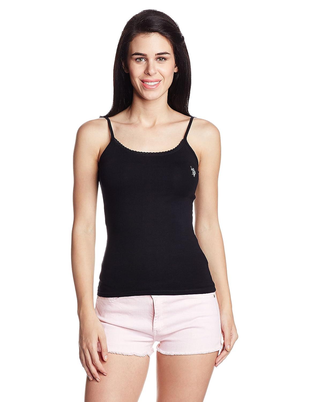 U.S.Polo Assn. Women's Band Collar T-Shirt