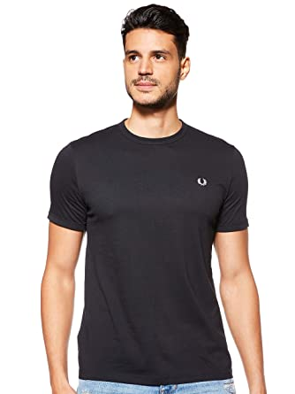 Fred Perry camiseta de manga corta 102 M3519: Amazon.es: Ropa y ...