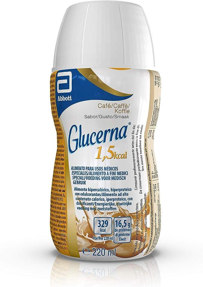 Glucerna 1.5 Kcal Caffe220Ml: Amazon.es: Salud y cuidado ...