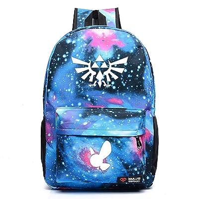 YOYOSHome Luminous Anime The Legend of Zelda Cosplay Bookbag College Bag Daypack Backpack School Bag (6) | Kids' Backpacks