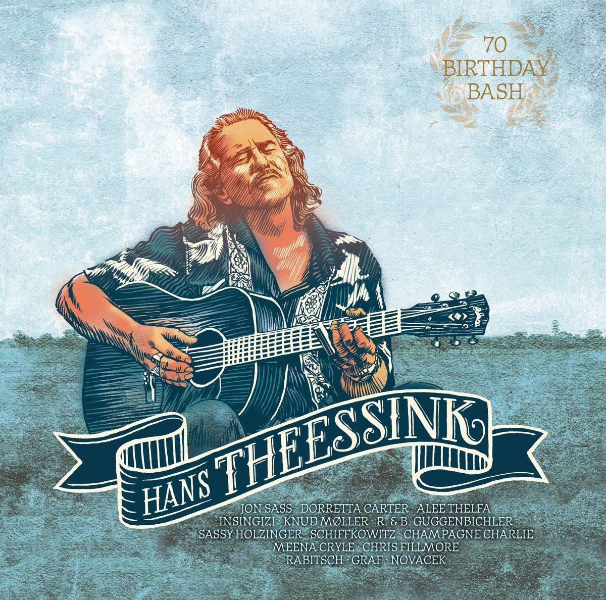 Vinilo : Hans Theessink - 70 Birthday Bash (LP Vinyl)