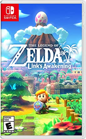Legend of Zelda Links Awakening for Nintendo Switch USA: Amazon ...