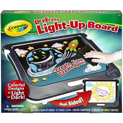 Crayola Dry Erase Light Up Board Drawing Set Age 5+: Toys & Games