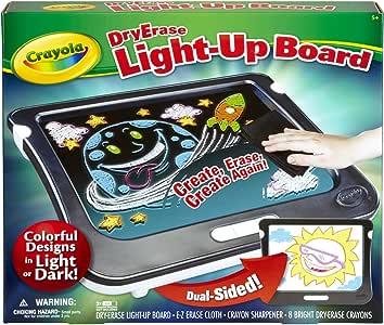 Crayola Dry Erase Light Up Board Drawing Set Age 5+