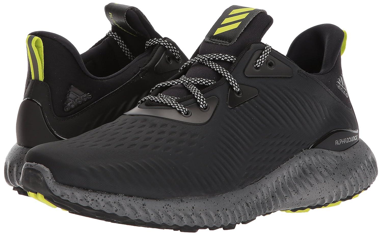pretty nice 26255 d3e0c adidas Mens Alphabounce Em CTD Running Shoe, BlackGreySemi Solar Yellow,  7.5 M US Amazon.co.uk Shoes  Bags
