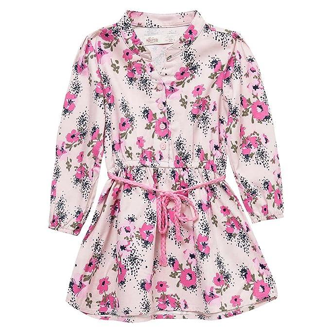 Amazon.com: offcorss manga larga Poco de las niñas vestidos ...