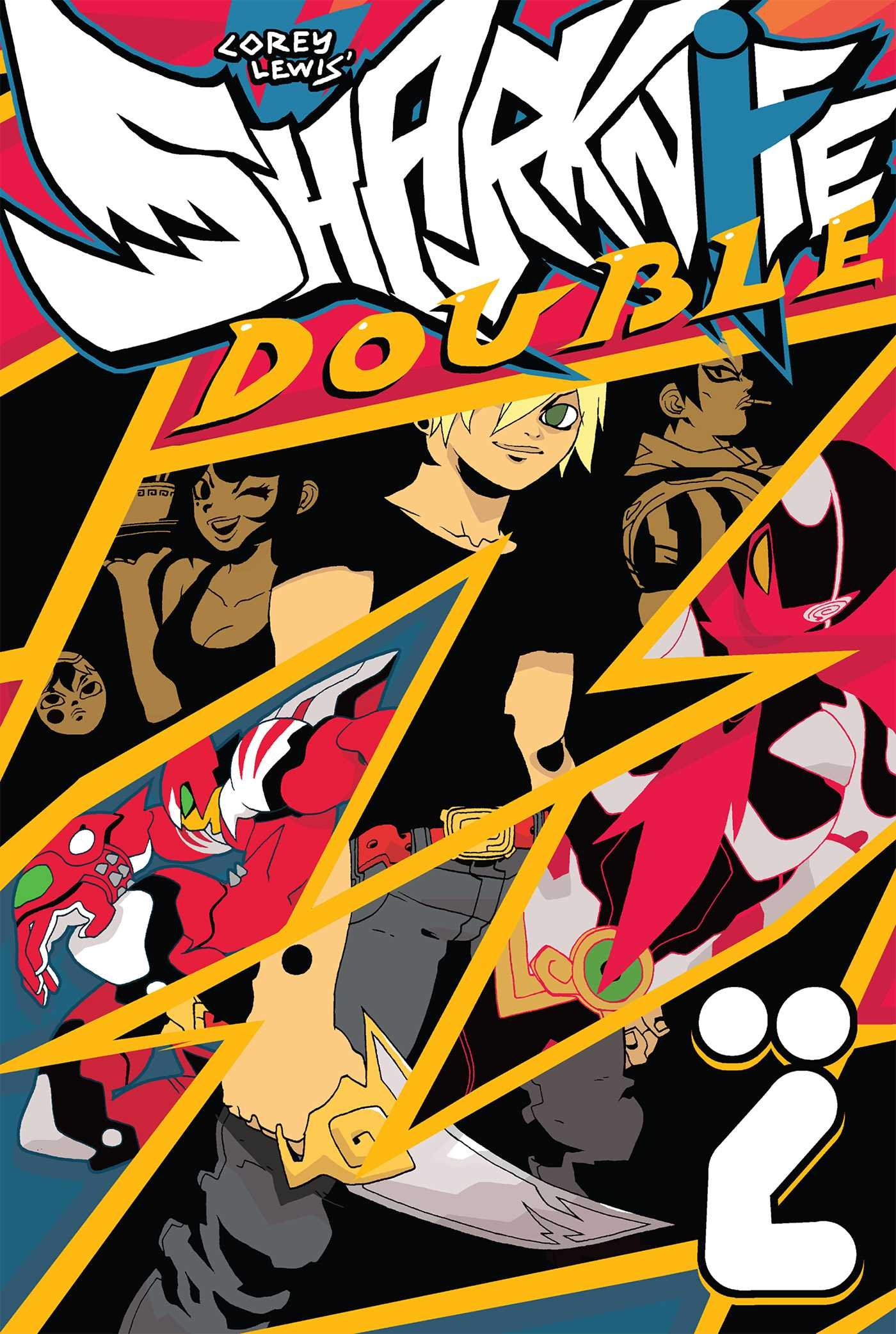Sharknife Volume 2: Double Z pdf