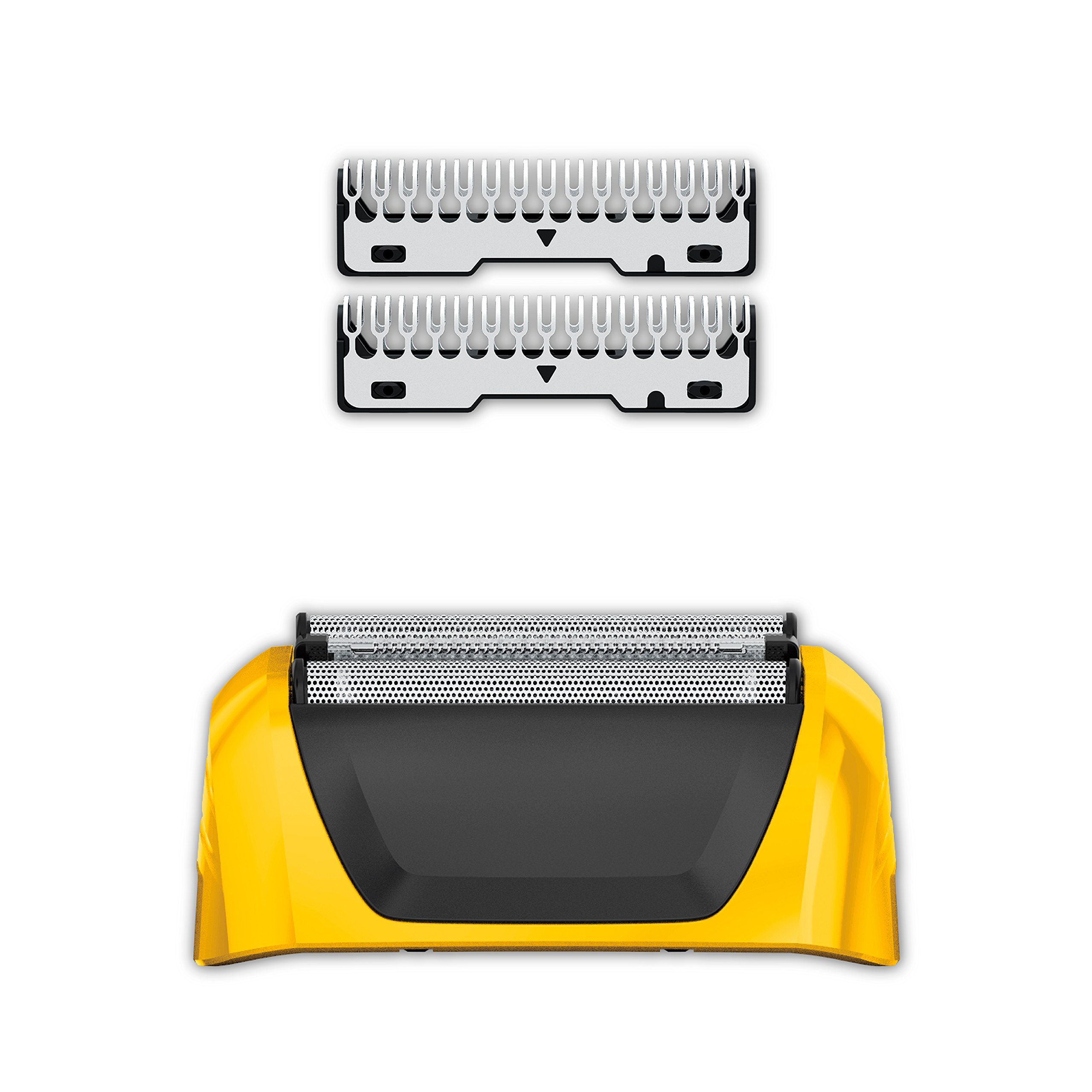 Wahl Yellow Lifeproof Shaver Replacement Foils, Cutters and Head for 7061 Series, 7045-100