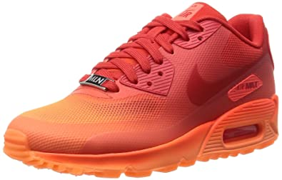 buy popular 143bc 2740d Nike Women s WMNS Air Max 90 HYP QS, Milan-Hyper Orange Challenge RED