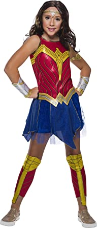 Rubie's Girl's DC Comics WW84 Deluxe Wonder Woman Costume Set