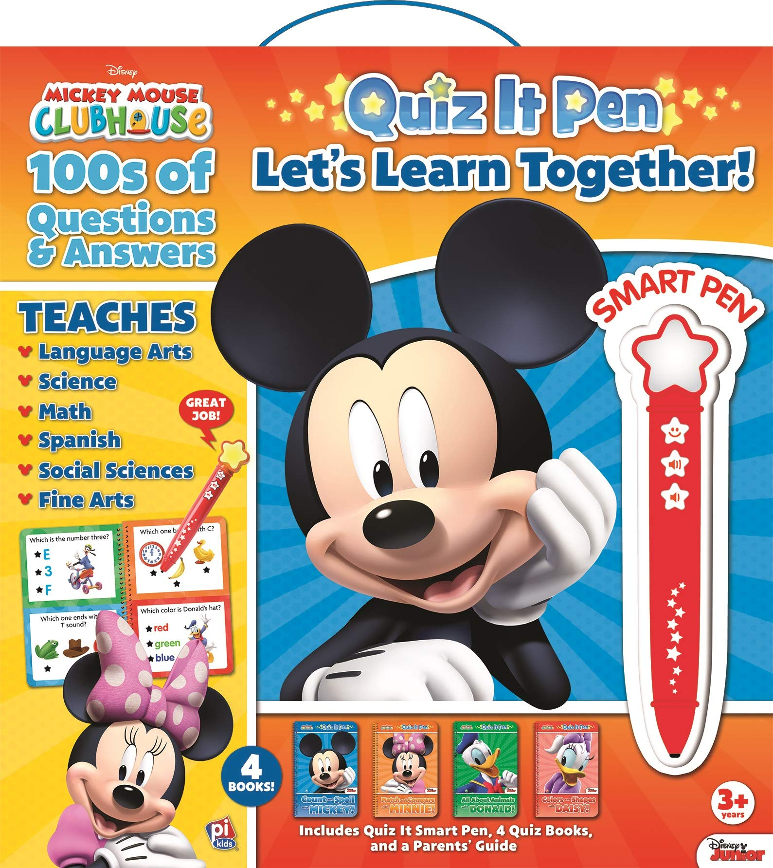 Disney - Mickey and Minnie Mouse Quiz It Pen Let's Learn