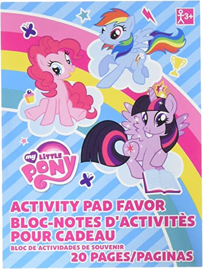 - Amazon.com: Amscan My Little Pony Coloring Book Party Favor 48 Books:  Toys & Games
