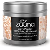 Mild Curry Powder by ZUUNA® 100% Pure, 100% Fresh, All Natural, Non-GMO, Gluten Free PREMIUM Gourmet Food Grade Spice