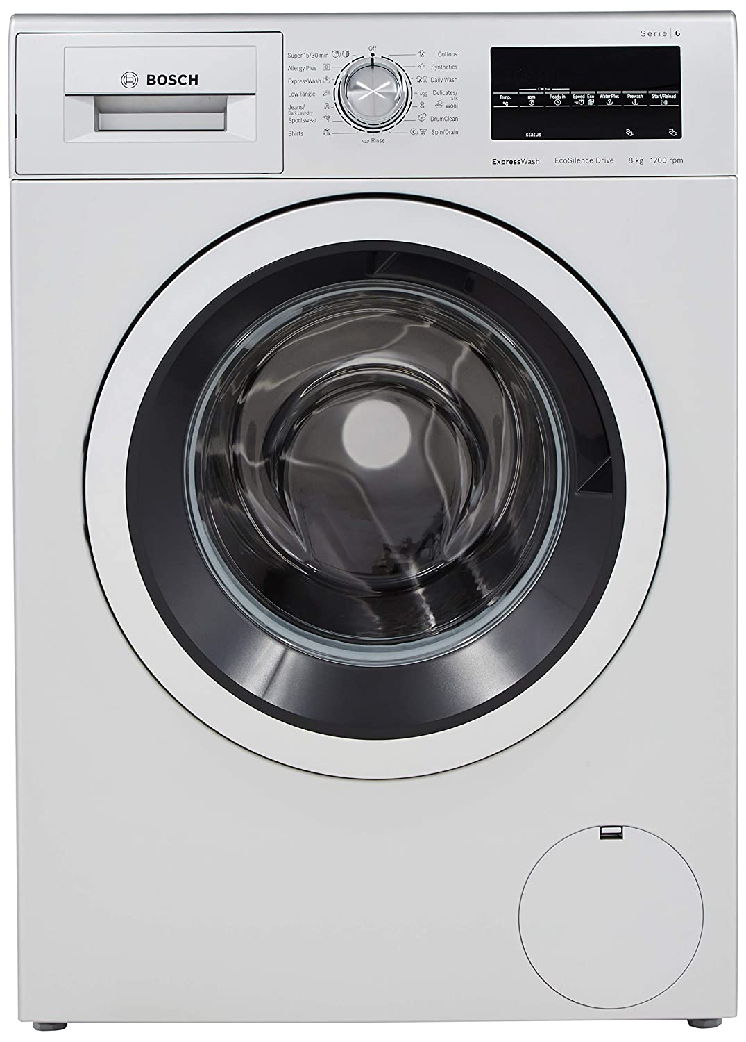 Image result for Bosch 8 KG Fully-Automatic Washing Machine: