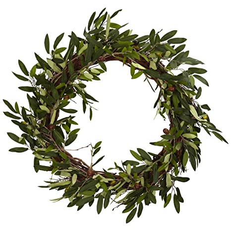 olive wreath from amazon