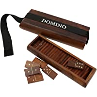 ShalinIndia Domino Game Set Artisan Crafted Wooden Toys from India