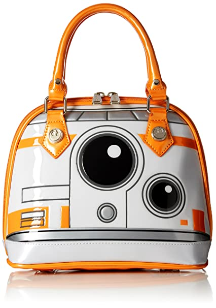 Amazon.com: Loungefly Star Wars BB8 Dome Bag Bolsa de asa ...