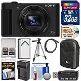 Sony Cyber-Shot DSC-HX80 Wi-Fi Digital Camera with 32GB Card + Case + Battery & Charger + Tripod + Kit