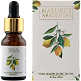 Nature's Absolutes Pure Lemon Essential Oil, 15ml
