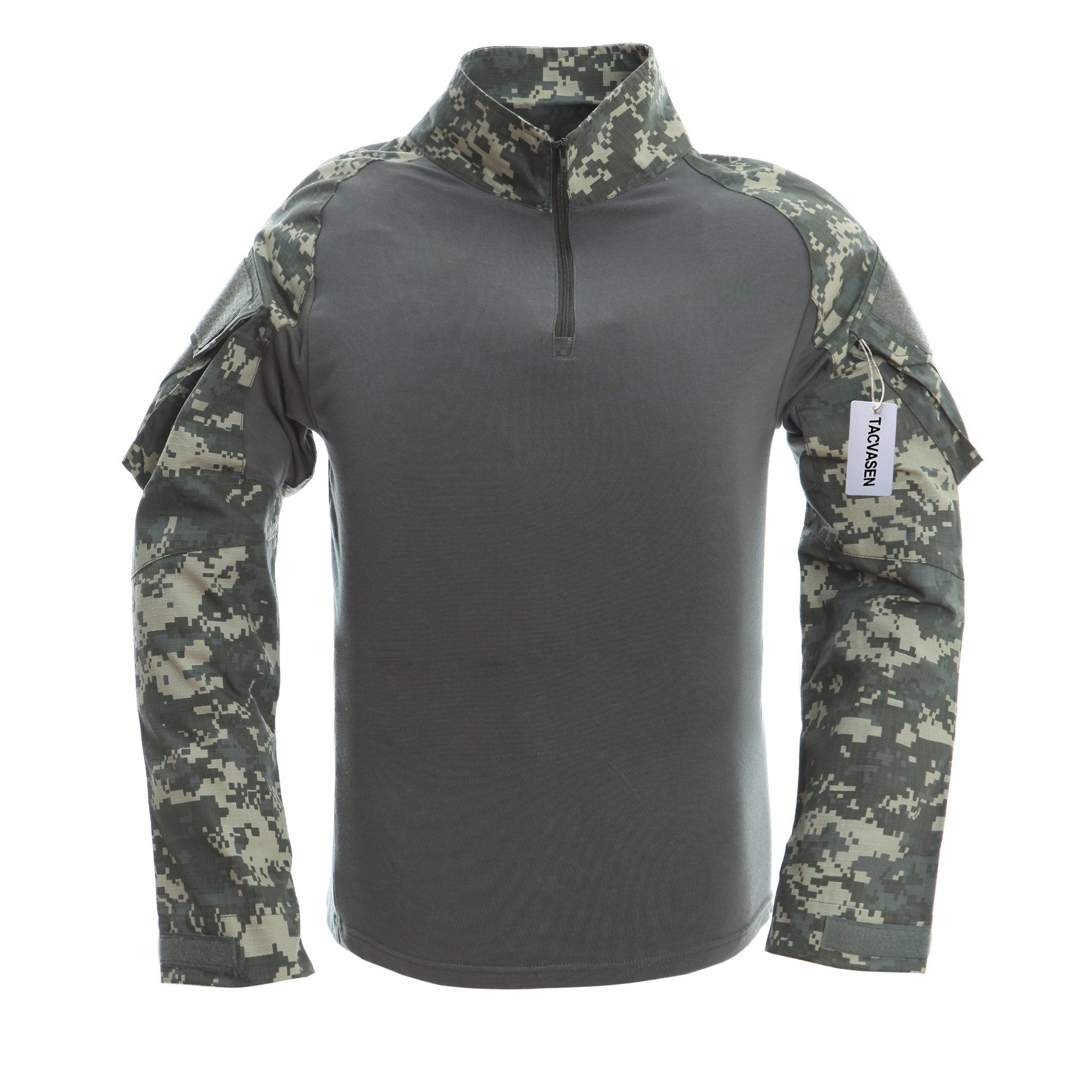83c6fa8f6 TACVASEN Mens Camouflage Camo Active Assault Long Sleeve T-shirt Tops ACU:  Amazon.com: Books