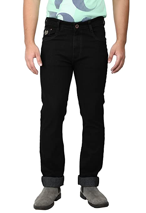 #MumbaiTrends ASABAs famous stone wash strong denim for a solid look. Strechable light weight fabric in semi-slim fit. A Perfect casual pant for men ASABA's 1610 Designer Fashion Branded Mens Good Qua at amazon
