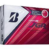 ブリヂストン(BRIDGESTONE) ゴルフボール TOUR B JGR マットレッド ゴルフボール(12球入り) ユニセックス 8JRX マットレッド
