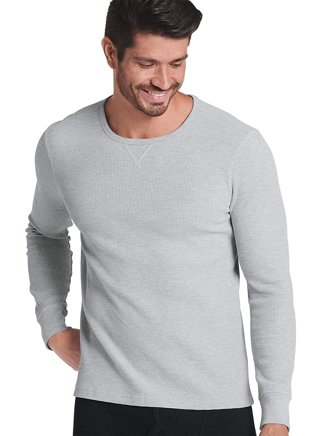 Jockey Men's T-Shirts Long Sleeve Waffle Crew