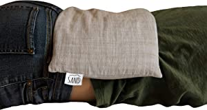Heating & Cooling Pad/Pack/Compress | Relax & Recover | Microwavable, Multi-Purpose, Cordless, Durable | Naturally Weighted with Flaxseed
