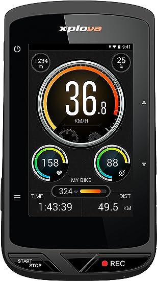Xplova X5 – Ordinateur de vélo GPS avec caméra vidéo, Les Médias ...