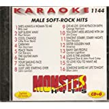 Monster Vol.1144 Karaoke CDG MALE SOFT ROCK HITS