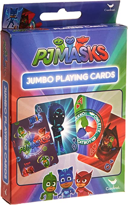 Cards Jumbo PJ MASKS Playing Deck NEW