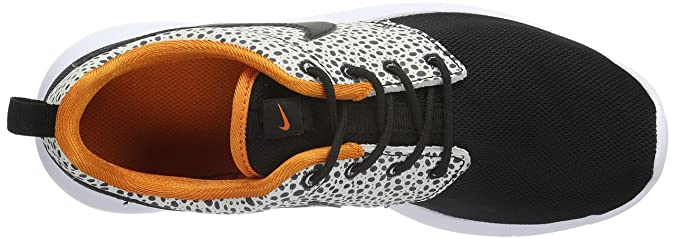 a671b1521d41a nikr roshe one safari gs 820339-001 Black Orange White 7y  Buy Online at  Low Prices in India - Amazon.in