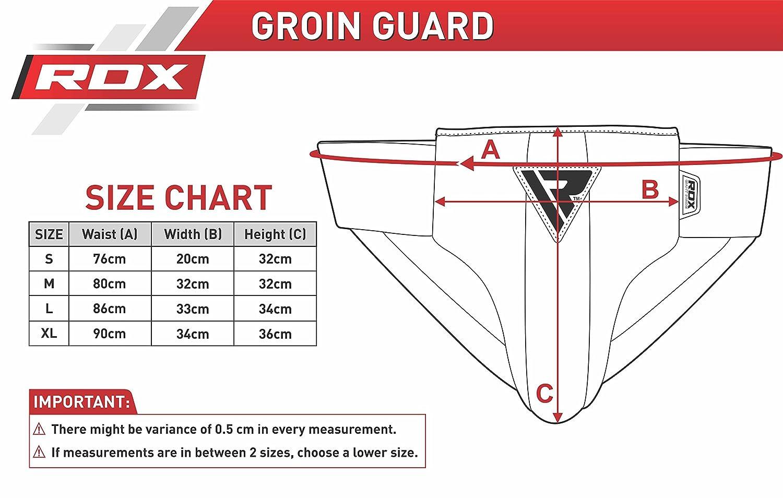 RDX Conchiglia Boxe Inguine Protezione Uomo MMA Protettiva Sport Sospensorio Arti Marziali Muay Thai