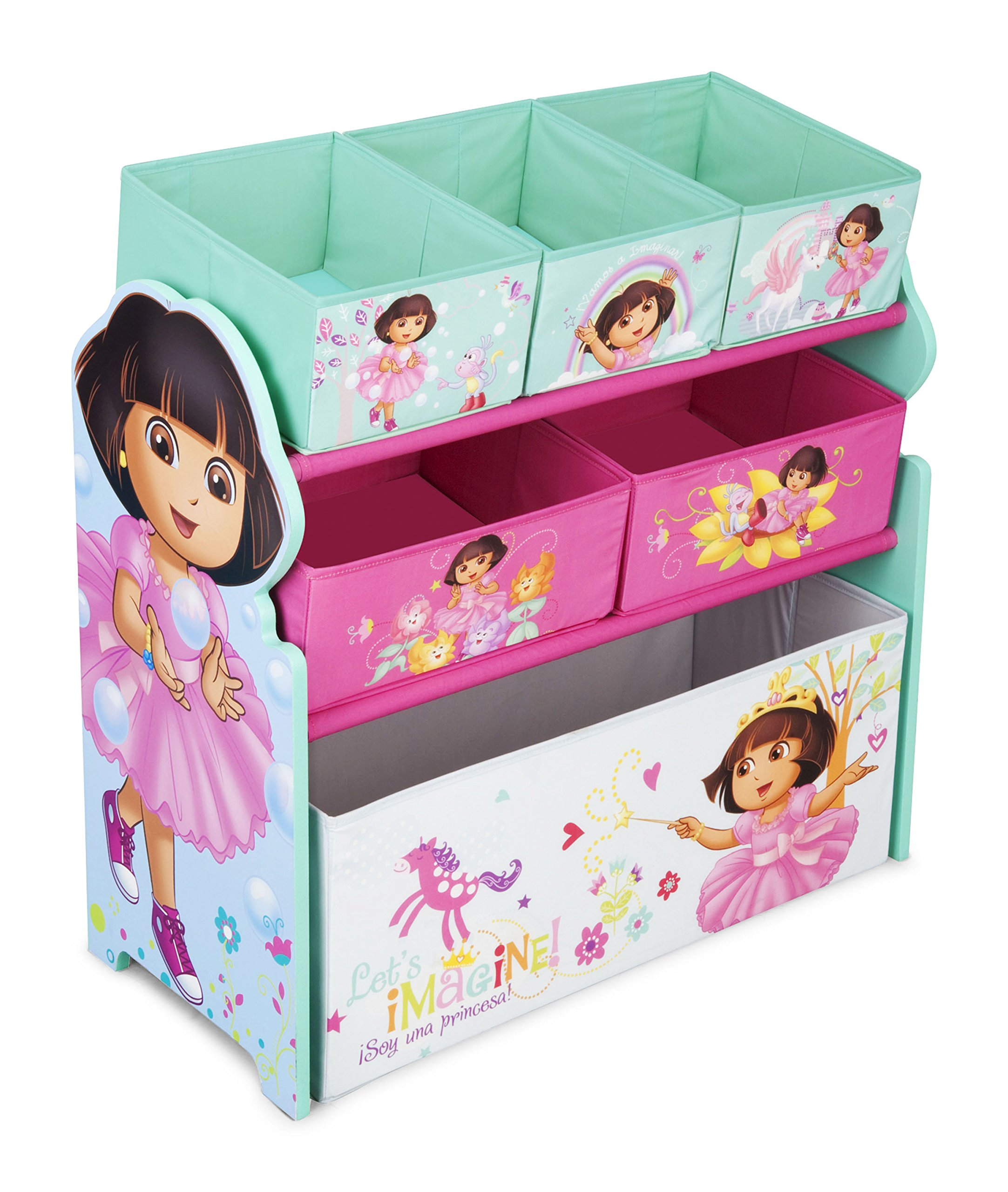 Paw Patrol Toy Organizer Bin Cubby Kids Child Storage Box: Amazon.com : Delta Children Deluxe Toy Box : Baby