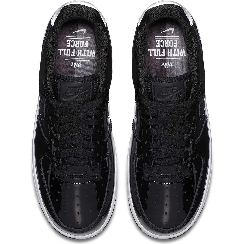 pretty nice c20af 6d914 Nike Women s W Air Force 1 07 SE PRM, Black Black-Reflect Silver, 9.5 UK   Amazon.co.uk  Shoes   Bags