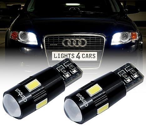 b503a 2x W5W T106x 5630SMD luz de posicin Canbus LED Xenon Look Park Luz Blanco