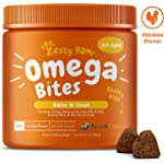 Zesty Paws Omega 3 Chew Treats for Dogs