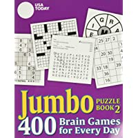 USA Today Jumbo Puzzle Book 2: 400 Brain Games for Every Day from the Nation's No. 1 Newspaper