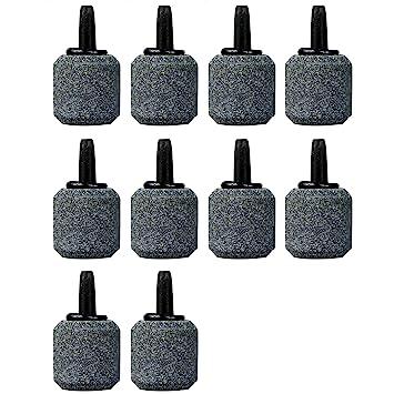 10PcsMini Piedras Difusor Porosa Aire Oxigenador Bomba burbuja de oxígeno piedra de aire Acuarios pecera: Amazon.es: Hogar