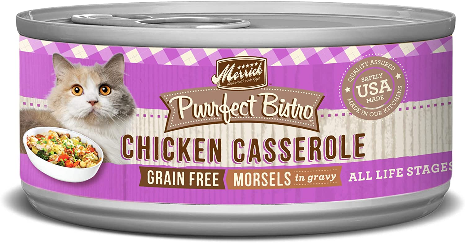 Merrick Purrfect Bistro Grain Free Canned Wet Cat Food (Case of 24)