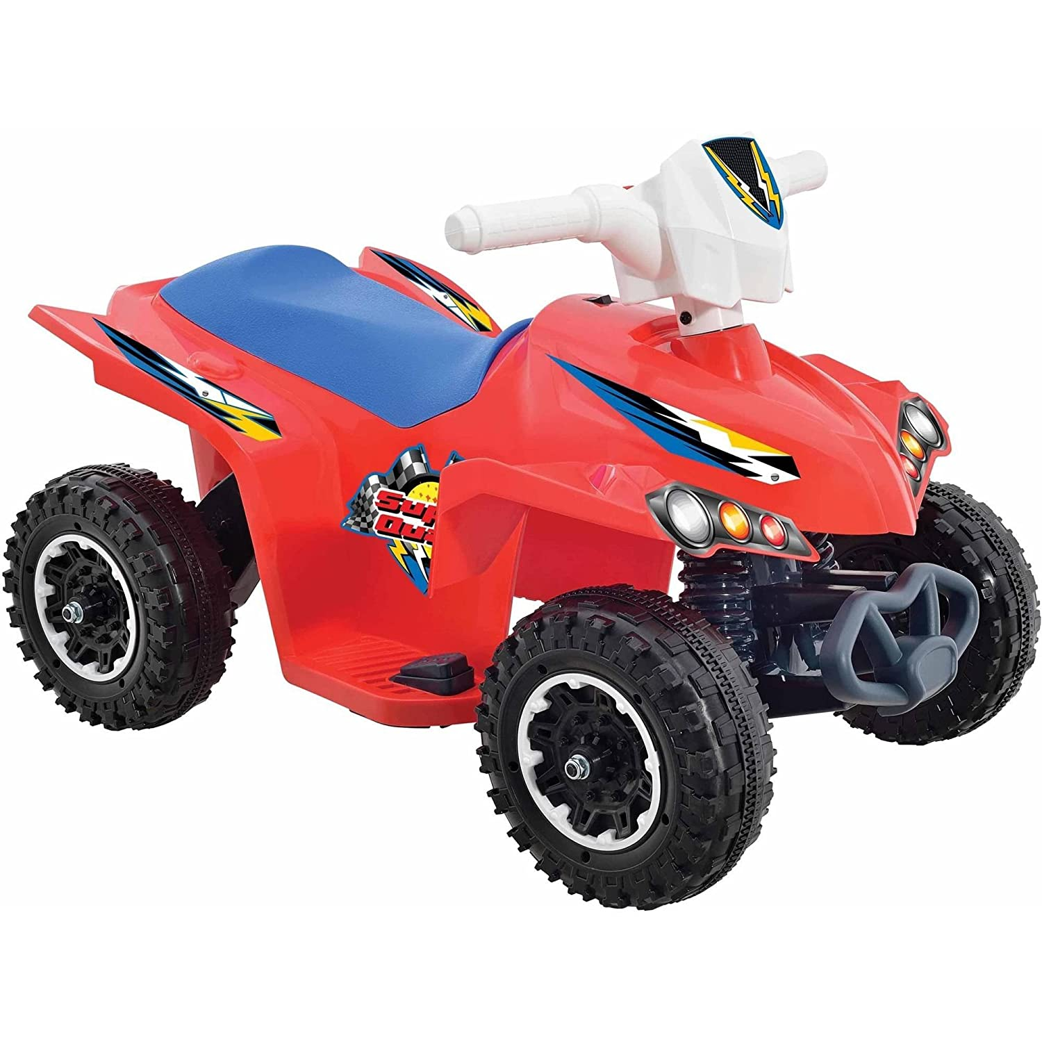 Motorized Toys For Boys : Volt battery powered wheels kids electric ride on quad