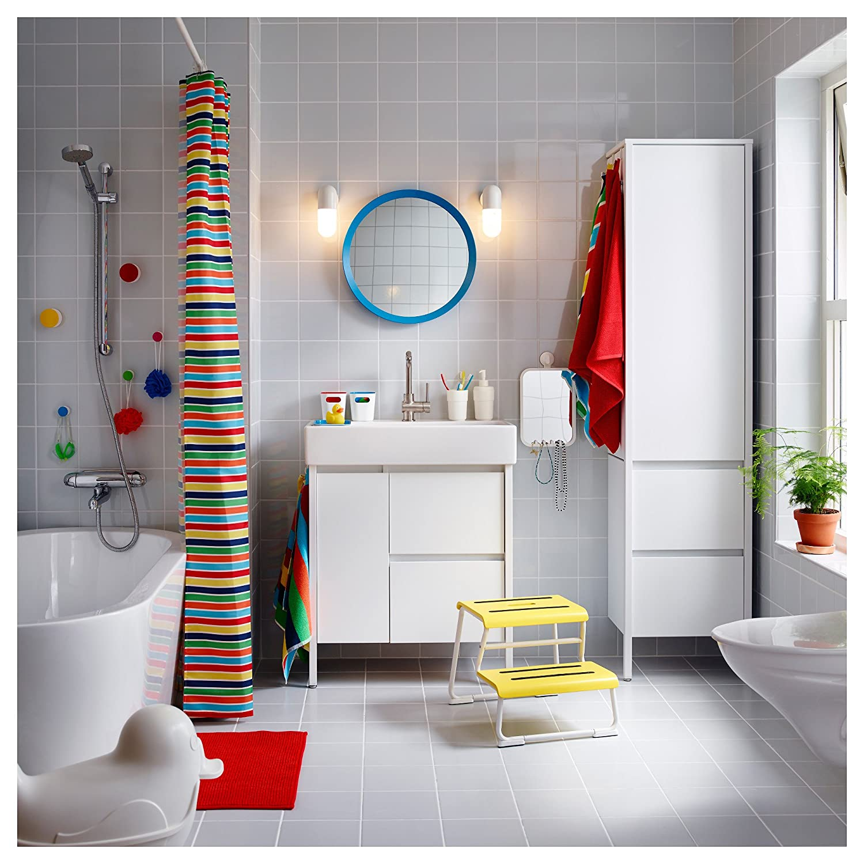 Ikea Yddingen Einzel Waschbecken Weiss Amazon De Kuche Haushalt