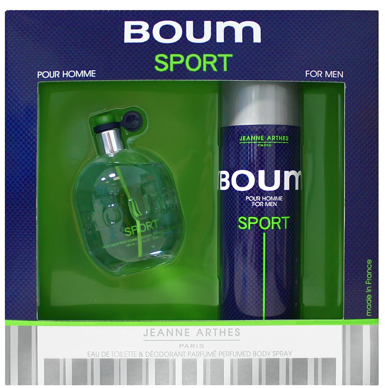 Jeanne arthes Cofanetto Boum Sport Eau de Toilette 100ml + Deodorante 200ml PF02414G