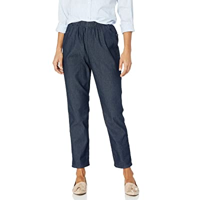 Chic Classic Collection Women's Stretch Elastic Waist Pull-On Pant at Women's Clothing store