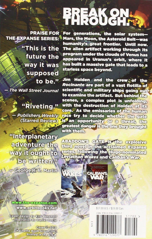 Abaddon's Gate (the Expanse): James S A Corey: 9780316129077: Amazon:  Books