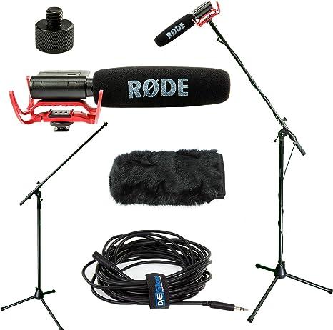 Rode VideoMic Studio Boom Kit con windmuff- VM, windmuff, Boom ...