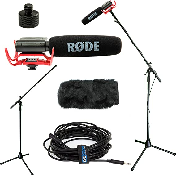 RODE VideoMic Studio Boom Kit with windmuff- VM