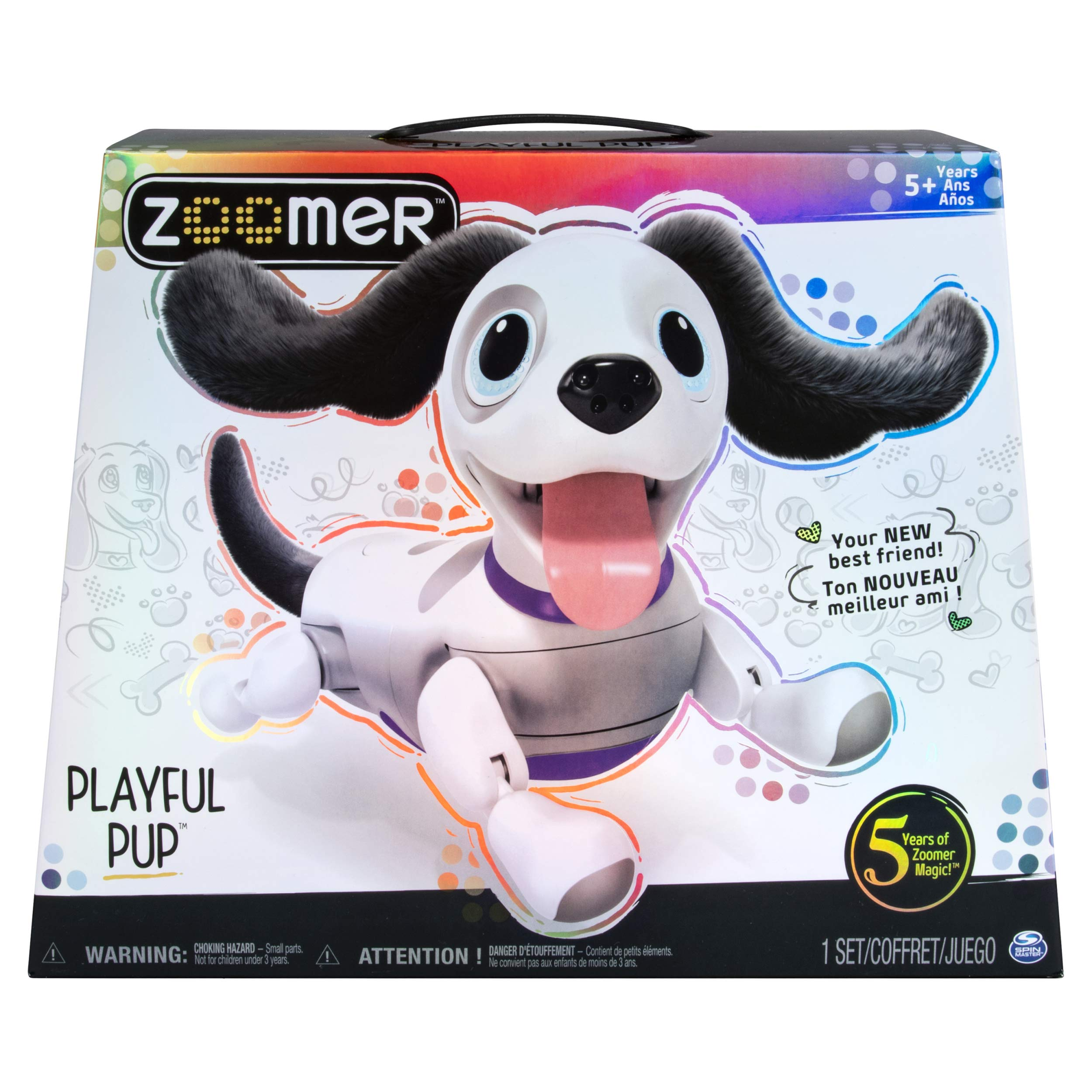 zoomer Playful Pup, Responsive Robotic Dog with Voice Recognition & Realistic Motion, For Ages 5 & Up by Zoomer (Image #2)