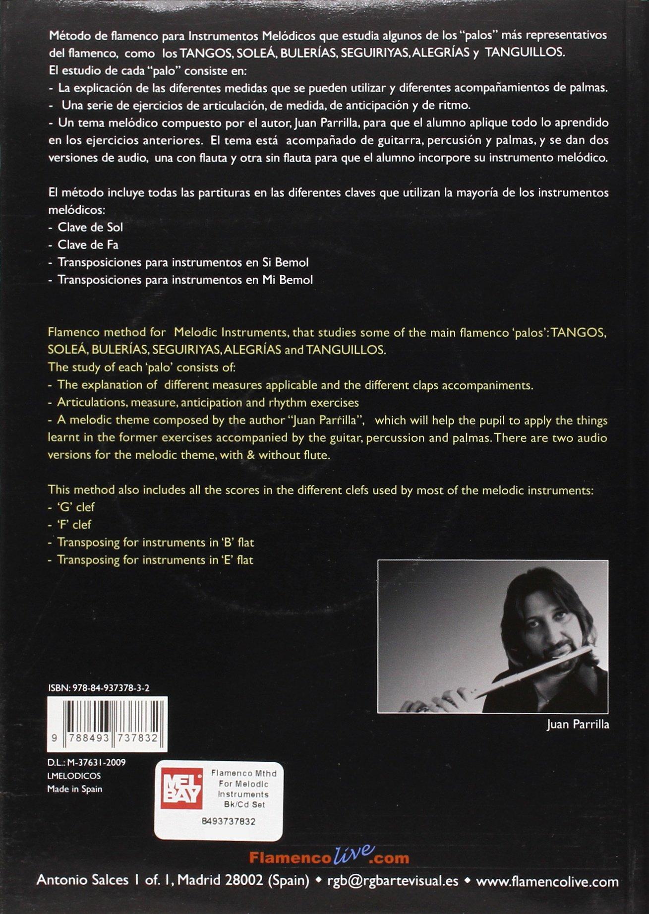 Metodo Flamenco Para Instrumentos Melodicos / Flamenco ...